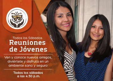 Banner Reuniones de Jóvenes